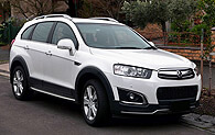 Chevrolet Captiva Workshop Manual