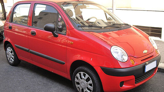 Chevrolet Matiz Workshop Manual 1998   M150