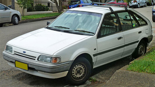 Ford Laser Meteor  Factory Service And Workshop Manual